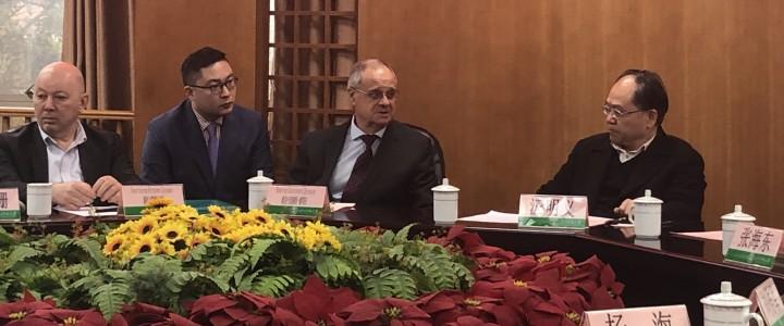 莫斯科国立师范大学代表团访问四川