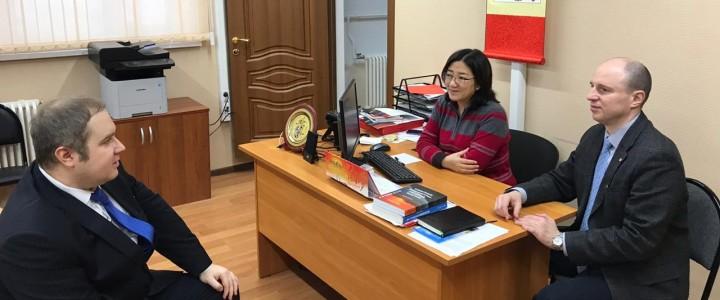 2019年2月15日,天津师范大学俄语教师赛门